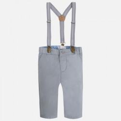 Mayoral spodnie eleganckie z szelkami 2530 -84