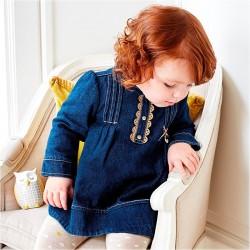 Mayoral sukienka jeansowa 2897 -005