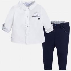Mayoral komplet koszula i spodnie 1521 56
