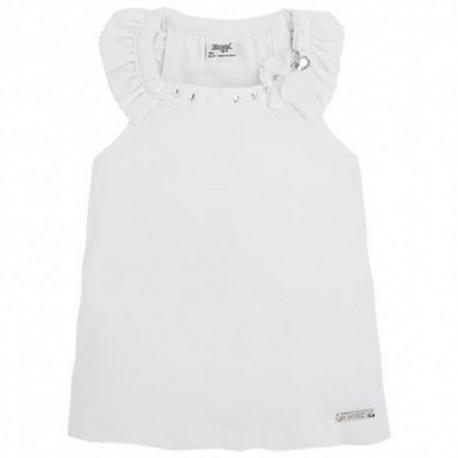 Bluzka biała Mayoral 3007 kolor 044