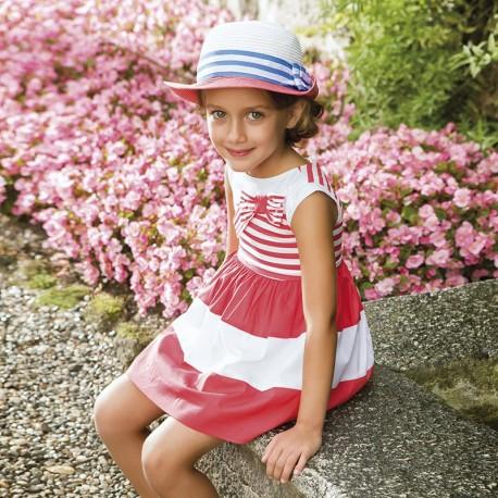 Sukienka kwiaty Mayoral 3955 kolor 066