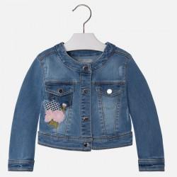 Mayoral 3467-61 kurtka jeansowa z haftem
