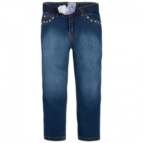 Spodnie jeansowe cienkie Mayoral 3511 kolor 014