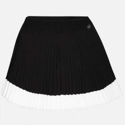 Mayoral 6913-88 Krótka spódnica z plisowanej krepy dla dziewczynki