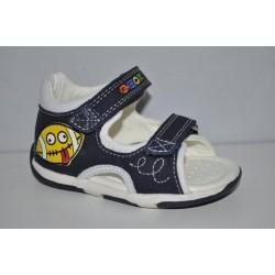 Sandałki Geox oddychające B720XB SAN TAPUZ r20-25