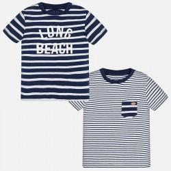 Mayoral 1027-93 Koszulki w paski z krótkim rękawem baby chłopiec