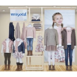 Mayoral nowa kolekcja jesień zima 2017 2018 zestaw dziewczęcy SWEET GARDEN r92-170
