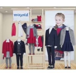 Mayoral nowa kolekcja jesień zima 2017 2018 zestaw dziewczęcy SMART LINE r92-170