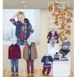 Mayoral nowa kolekcja jesień zima 2017 2018 zestaw BABY i MINI MAGICAL BLUE rozmiary 62-134