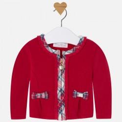 Mayoral bluza 2411-35 Rozpinana z dzianiny dla dziewczynki