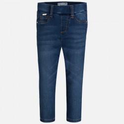Mayoral jegginsy 72-45 Spodnie Legingsy basic w stylu jeans dla dziewczynki