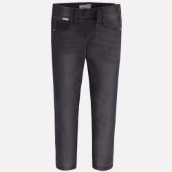 Mayoral jegginsy 72-43 Spodnie Leginsy basic w stylu jeans dla dziewczynki