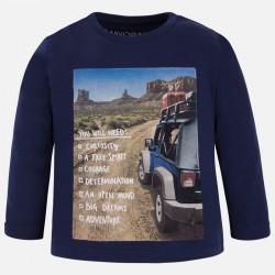Mayoral bluzka 4035-37 dla chłopca z długim rękawem