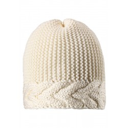 Reima czapka Pihla 528562 kolor 0100 biały