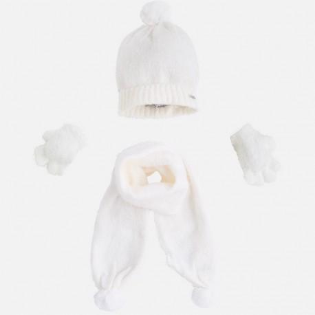Mayoral komplet 10293-69 czapka szalik rękawiczki