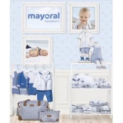 Mayoral nowa kolekcja wiosna lato 2018 zestaw chłopięcy STAR SAPPHIRE NEWBORN r50-80