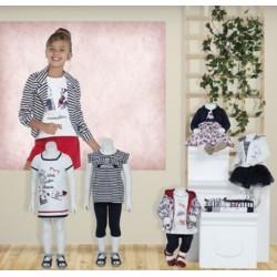 Mayoral nowa kolekcja wiosna lato 2018 zestaw dziewczęcy MARINO BABY r62-98