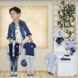 Mayoral nowa kolekcja wiosna lato 2018 zestaw chłopięcy VITALITY BABY r62-98