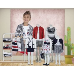 Mayoral nowa kolekcja wiosna lato 2018 zestaw dziewczęcy MARINO MINI i JUNIOR r92-170