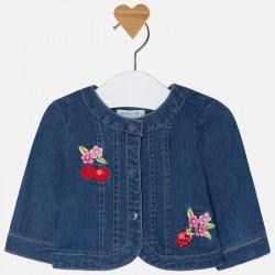 Mayoral kurteczka 1410-89 jeansowa dla dziewczynki baby