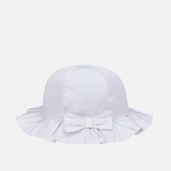 Mayoral kapelusz 10353-51 z serży dla dziewczynki baby