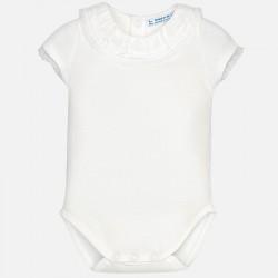 Mayoral body 1702-59 ecri dla dziewczynki baby z falbanką