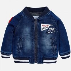 Mayoral Kurtka 1454-05 Bomberka jeansowa dla chłopca