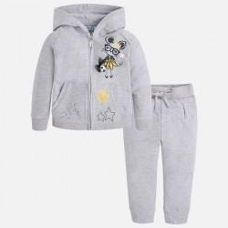 Mayoral Dres 3810-53 z bluzą z kapturem dla dziewczynki