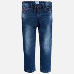 Mayoral Spodnie 3540-32 jeansowe typu relaxed dla chłopca