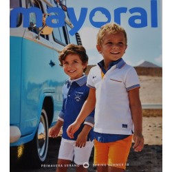 Katalog Mayoral MINI nowa kolekcja wiosna lato 2018 rozmiary 92-134