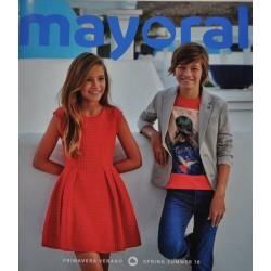 Katalog Mayoral JUNIOR nowa kolekcja wiosna lato 2018 rozmiary 128-170