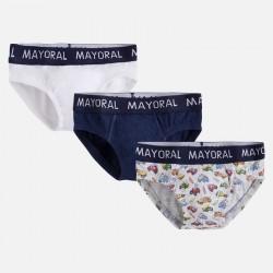 Mayoral majtki 10362-23 slipki 3szt