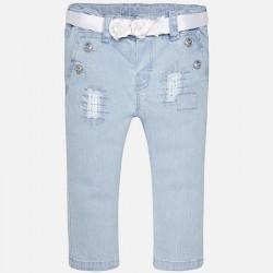Mayoral spodnie 1526-05 jeansowe dla dziewczynki