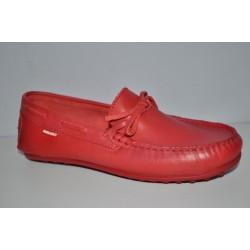 Czerwone Mokasyny Pablosky 122966 rozmiary 34-40