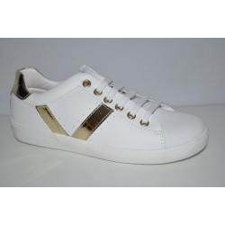 Białe buty Pablosky 270708 suwak z boku