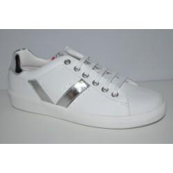 Białe buty Pablosky 270705 suwak z boku
