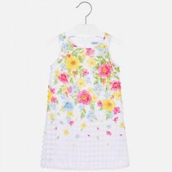 Mayoral Sukienka 6964-70 we wzory dla dziewczynki