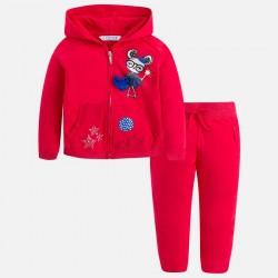Mayoral Dres 3810-54 z bluzą z kapturem dla dziewczynki