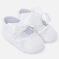 Mayoral buciki 9810-91 białe niemowlęce