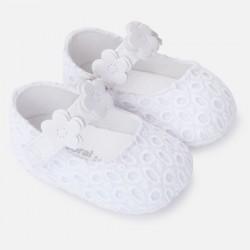 Mayoral buciki 9812-89 białe niemowlęce
