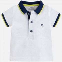 Mayoral koszulka 190-87 polo białe