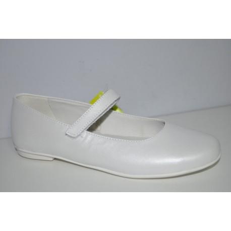 Buty komunijne dziewczęce Primigi 14366 kolor biały perła