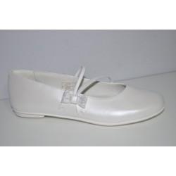 Buty komunijne dziewczęce Primigi 14368 kolor biały perła