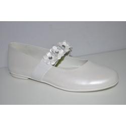 Buty komunijne dziewczęce Primigi 14369 kolor biały perła