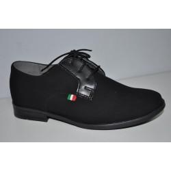 Buty komunijne czarne chłopięce Kornecki 06120 r31-37