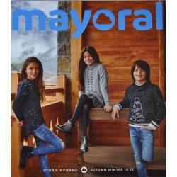 Katalog Mayoral  JUNIOR nowa kolekcja jesień zima 2018 2019 rozmiary 128-170