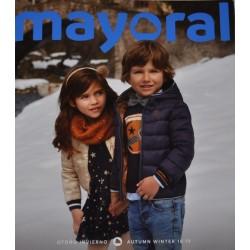 Katalog Mayoral MINI nowa kolekcja jesień zima 2018 2019 rozmiary 92-134