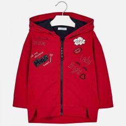 Mayoral bluza 4425-94  dla dziewczynki z naszywkami