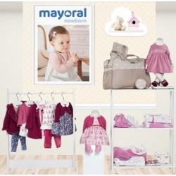 Mayoral nowa kolekcja jesień zima 2018 2019 zestaw NEWBORN CIRUELA - MALVA rozmiary 50-80