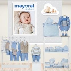 Mayoral nowa kolekcja jesień zima 2018 2019 zestaw NEWBORN BLUE VIG - CIELO rozmiary 50-80